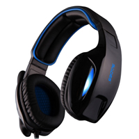 Sades SA-902 Gaming Headset - Blue