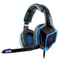 Sades SA-968 Surround Sound Gaming Headset - Blue