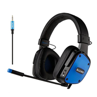 Sades SA-722 Gaming Headset - Blue