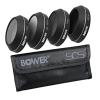 Bower 4-Piece 4K Optics Filter Kit for DJI Mavic Pro