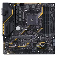 ASUS TUF B350M-PLUS Gaming AM4 mATX AMD Motherboard