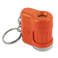 Carson Optical MicroMini 20x Pocket Microscope - Orange