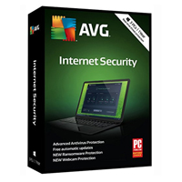 AVG Internet Security 2018 - 3 Users, 1 Year