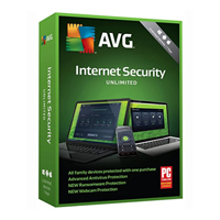 AVG AVG Internet Security - Unlimited Users, 1 Year