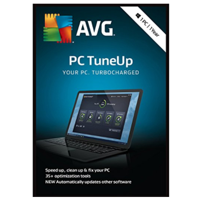 AVG PC Tuneup 2018 - 1 User, 1 Year
