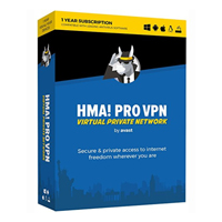 AVG Avast HMA Professional VPN 2018 - 1 Year