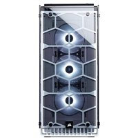 Corsair Crystal 570X RGB ATX Mid-Tower Computer Case - White