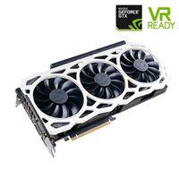 EVGA GeForce GTX 1080 Ti FTW3 ELITE GAMING White Triple-Fan 11GB GDDR5X PCIe Video Card