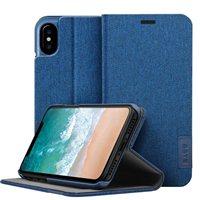 Laut Apex Knit Folio Case for iPhone X - Indigo