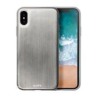 Laut Huex Metallics for iPhone X - Silver