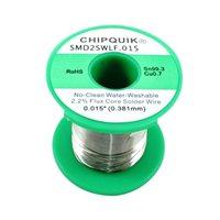 Chip Quick LF Solder Wire 99.3/0.7 Tin/Copper no-clean .015 8 ounces