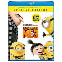 Universal Despicable Me 3 Special Edition Blu-ray