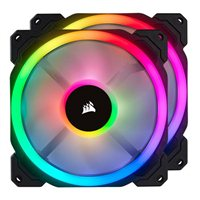 Corsair LL140 RGB 140mm Case Fan with Lighting Node Pro - Twin Pack