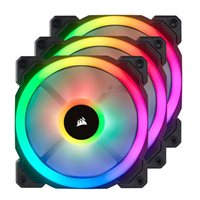 Corsair LL120 RGB 120mm Case Fan with Lighting Node Pro - Triple Pack