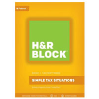 Block Financial Software H&R Block Tax Software Basic 2017