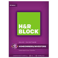 Block Financial Software H&R Block Tax Software Deluxe 2017
