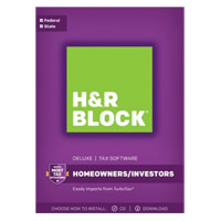 Block Financial Software H&R Block Tax Software Deluxe State 2017