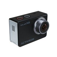 ACTIVEON Solar XG 16 Megapixel Digital Camera w/ Solar Powered Charging station - Black