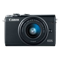 Canon EOS M100 24 Megapixel Digital Camera with 15-45mm Lens - Black