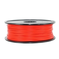 Inland 3mm Red PLA 3D Printer Filament - 1kg (2.2 lbs)