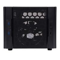 Cooler Master Elite 130 mini-ITX Mini-Tower Computer Case Open-Box - Black