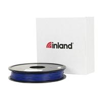 Inland eLastic 1.75mm Blue TPE 3D Printer Filament - 0.5kg Spool (1 lbs)