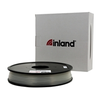 Inland 1.75mm Natural Nylon 3d Printer Filament - 0.5kg Spool (1.1 lbs)