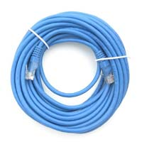 Inland Cat 6 Network Cable 7 ft. 5 Pack - Blue