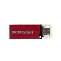 Micro Center 16GB USB 3.0 OTG Flash Drive with Micro USB Connector - Black