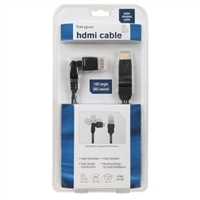 Targus HDMI Male to HDMI Male All Direction HDMI Cable 6 ft. - Black