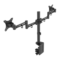 "Inland Dual-Arm Desktop Mount for Monitors 10"" - 30"""