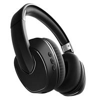 Sharper Image SBT565 Noise-Cancelling Bluetooth Headphones - Black
