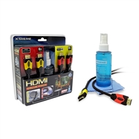 Xtreme Cables HDMI Cable Value Pack w/ Cleaning Kit (4-Piece)