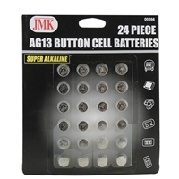 JMK / IIT AG13 Button Cell Battery 24-Piece
