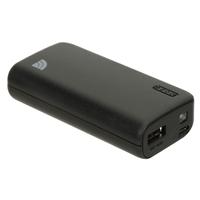 Inland 5,200mAh Power Bank - Black