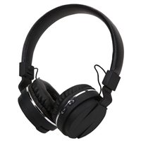 Inland Bluetooth Stereo Headphone w/ Mic - Black