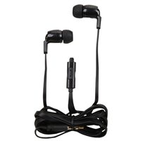 Inland Wired Earbuds w/ Mic - Black