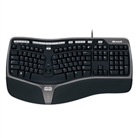Microsoft Natural Refurbished Ergonomic Keyboard 4000