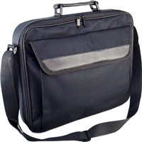 """Inland Laptop Briefcase Fits Screens up to 17.3"""" - Black"""