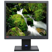 "Lenovo LT1712p 17"" SXGA 60Hz VGA DVI LCD Monitor Refurbished"
