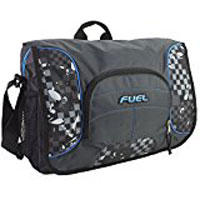 "Eastsport Fuel Printed Messenger Fits Screens up to 15"" - Graphite Block"