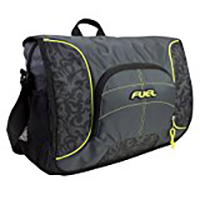 "Eastsport Fuel Printed Messenger Fits Screens up to 15"" - Tribal Gray"