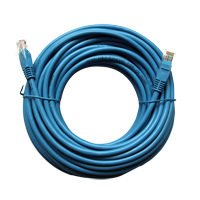 Inland Cat 5e Network Cable 50 ft - Blue