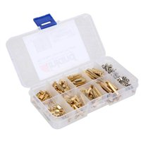 Inland M2/M3 Brass Spacer Kit - 240 Piece