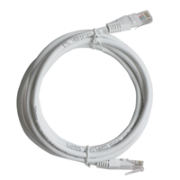 Inland CAT 6 Network Cable 25 ft. 5 Pack - White