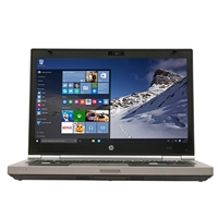 "HP EliteBook 8470 14"" Laptop Computer Refurbished - Silver"