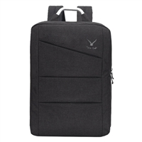 """Hynes Eagle Laptop Backpack Fits Screens up to 17"""" - Black"""