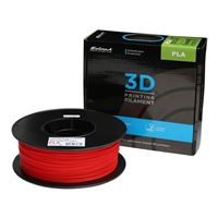 Inland 1.75mm Red PLA 3D Printer Filament - 1kg Spool (2.2 lbs)