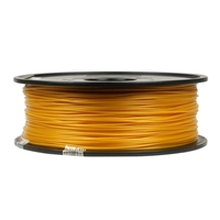 Inland 1.75mm Gold PLA 3D Printer Filament - 1kg Spool (2.2 lbs)
