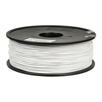 Inland 1.75mm White ABS 3D Printer Filament - 1kg Spool (2.2 lbs)